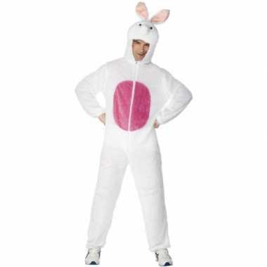 Dieren carnavalskostuum konijn volw