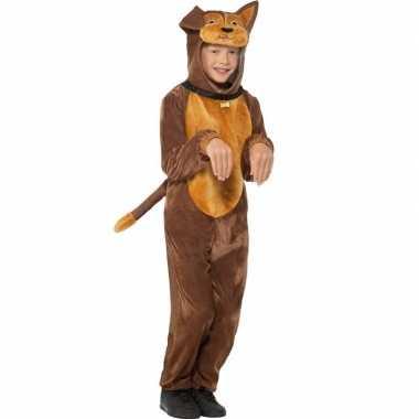 Carnaval dieren verkleed kostuum hond kids