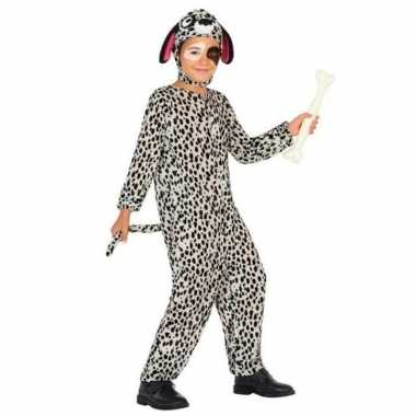 Carnaval dierenkostuum hond/honden verkleed kostuum dalmatier kindere