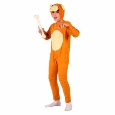 Carnaval dierenkostuum hond/honden verkleed kostuum kinderen