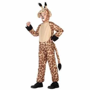 Carnaval dierenkostuum verkleed kostuum giraffe kinderen