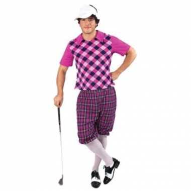 Carnaval  Drie golf kostuum heren