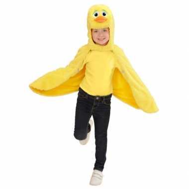 Carnaval  Eenden kostuum cape peuters