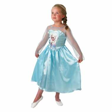 Carnaval  Elsa Frozen jurk kinderen kostuum
