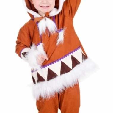 Carnaval  Eskimo kostuum jongens