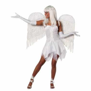 Carnaval  Fee jurkje wit dames kostuum