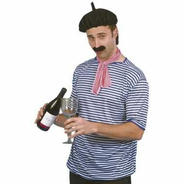 Carnaval  Franse man pak kostuum