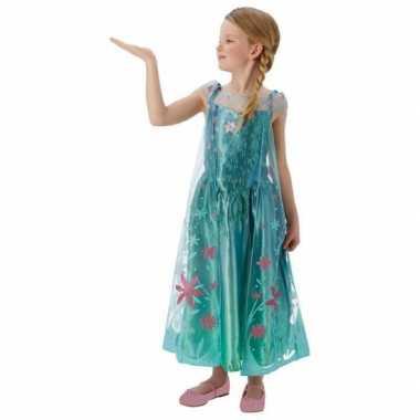Carnaval  Frozen Fever verkleed jurkje meiden kostuum
