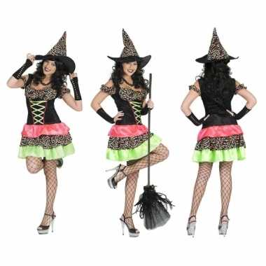 Carnaval gekleurde oktoberfest jurk dames kostuum