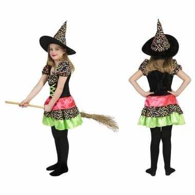 Carnaval gekleurde oktoberfest jurk meisjes kostuum