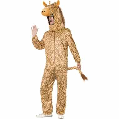 Giraffen kostuumken dames heren