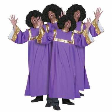 Carnaval  Gospel koor kostuum