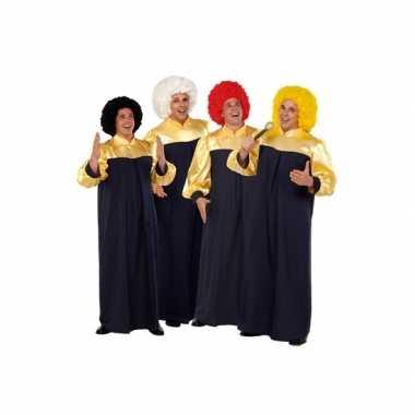 Carnaval  Gospel zanger kostuums