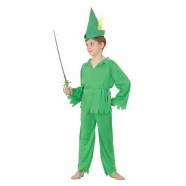 Carnaval  Groen Peter kostuumje kinderen