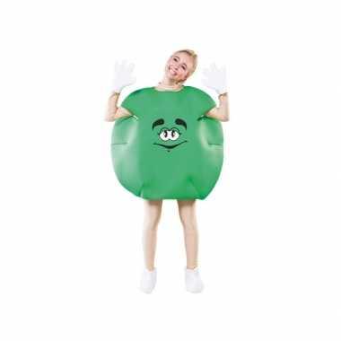 Carnaval  Groen snoepje kostuum