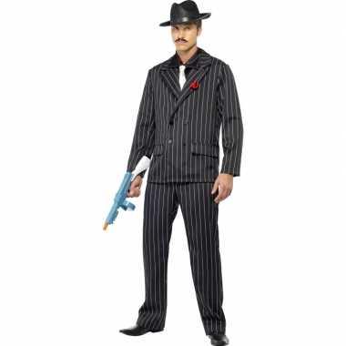 Heren Gangster carnavalskostuum