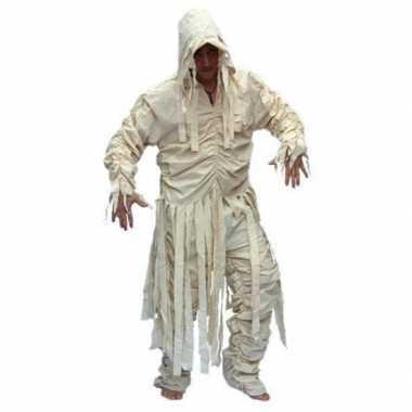 Carnaval  Heren mummie kostuum