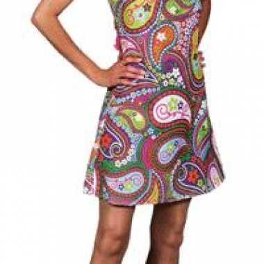 Hippie jurk carnavalskostuum dames