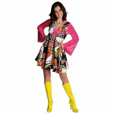 Hippie jurkje carnavalskostuum