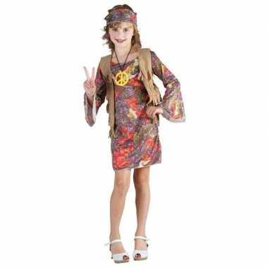 Carnaval  Hippie kostuum kinderen