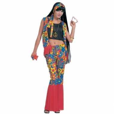 Carnaval  Hippie kostuum peace tekens