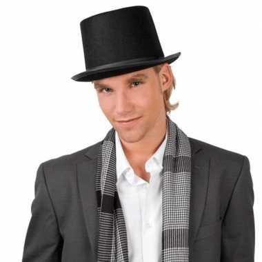 Carnaval hoed goochelaar volwassenen kostuum