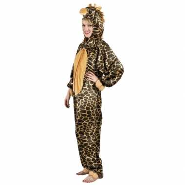 Carnaval huiskostuum giraffe dames