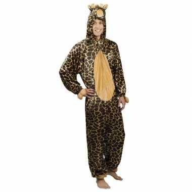Huiskostuum giraffe heren