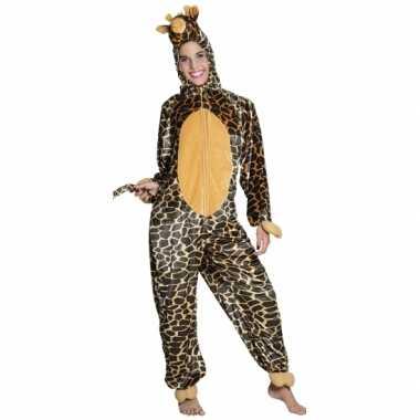 Carnaval huiskostuum giraffe kinderen