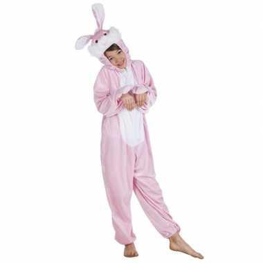 Carnaval huiskostuum konijn kinderen