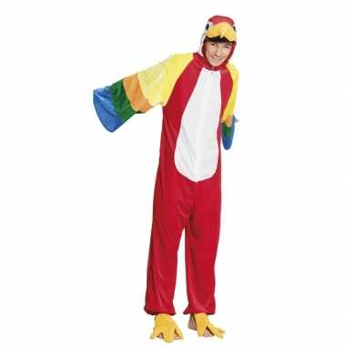 Carnaval huiskostuum papegaai kinderen
