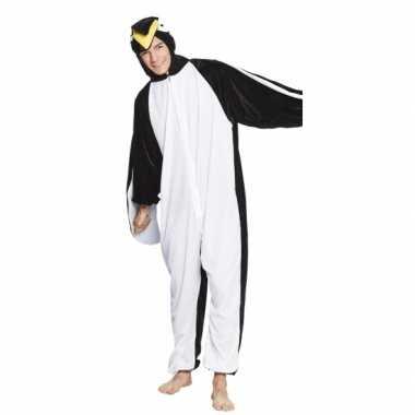 Carnaval huiskostuum pinguin kinderen