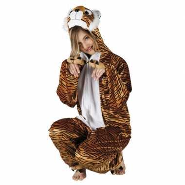 Carnaval huiskostuum tijger dames