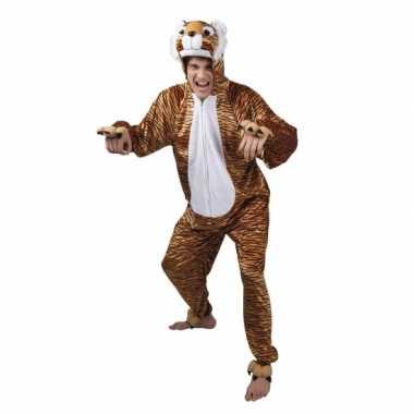 Carnaval huiskostuum tijger heren