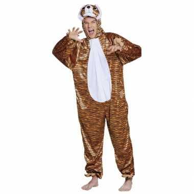 Carnaval huiskostuum tijger kinderen