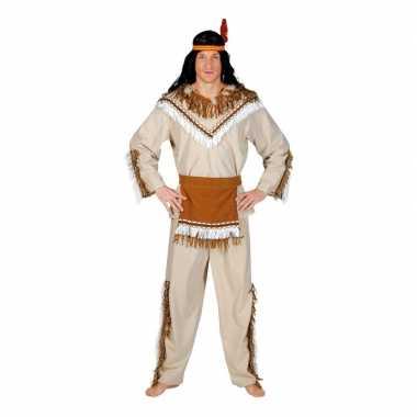 Indiaan adahy carnavalskostuum heren