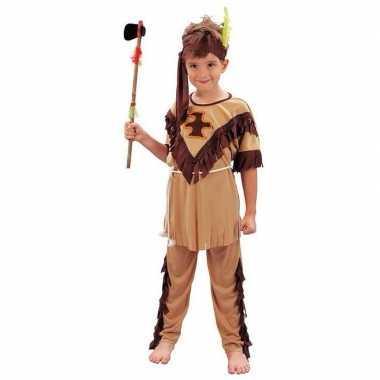 Carnaval  Indianen pak kinderen kostuum
