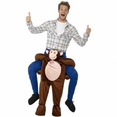 Carnaval instap dierenkostuum kostuum aap volwassenen