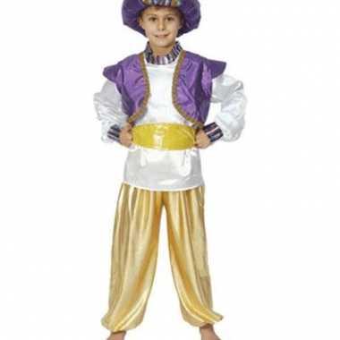 Carnaval  Jongens kostuum Aladdin