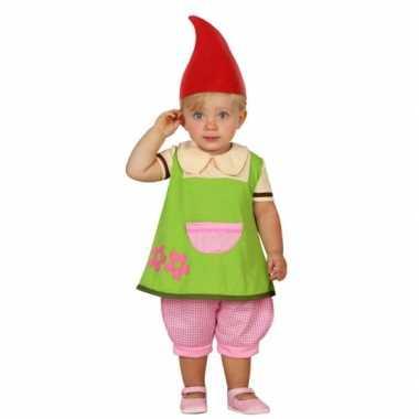 Carnaval  Kabouter elf kostuumje peuters