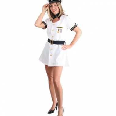 Carnaval  Kapiteinsjurkje dames kostuum