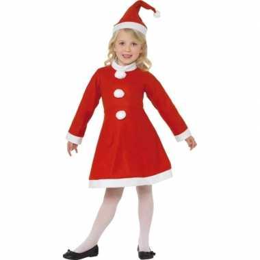 Carnaval  Kerst jurkje meiden kostuum
