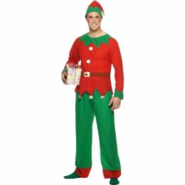 Carnaval  Kerstelf kostuum volwassenen