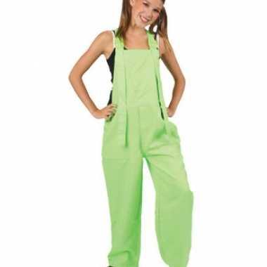 Carnaval  Kinder kostuuml fluor groen