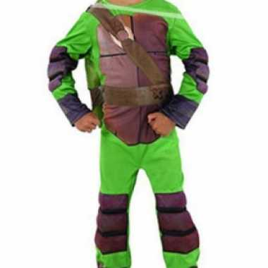 Carnaval  Kinder Ninja Turtle Leonardo kostuum