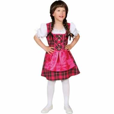 Carnaval  Kinder Tiroler jurkjes kostuum