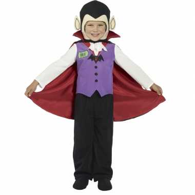 Carnaval  Kinder vampier kostuum Graaf Dracula