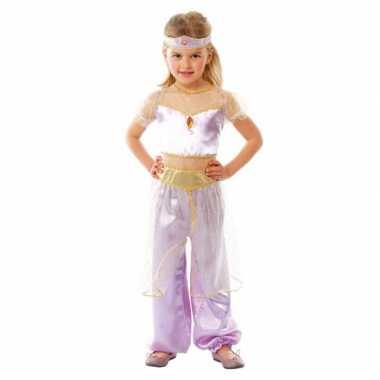 Carnaval  Kinderkostuum paars Arabische prinses