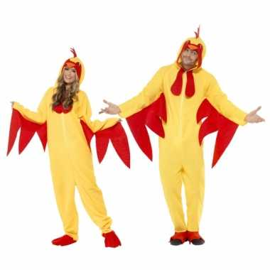 Carnaval  Kippen kostuumken dames heren