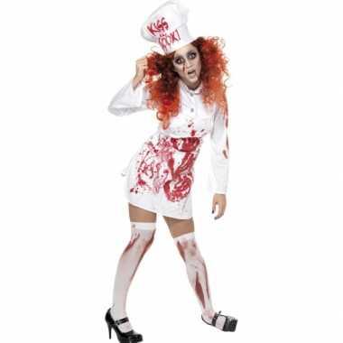 Carnaval  Kokkin kostuum bloed